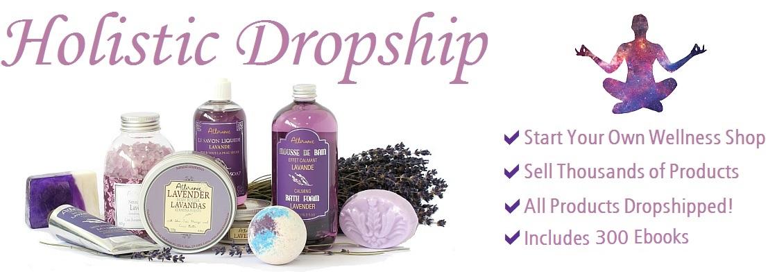 Wellness Dropship Websites - Start Your Own Holistic Store - Wholesale